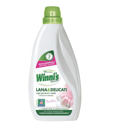 Płyn do prania wełny i delikatnych tkanin, Winni's, 750 ml (1)