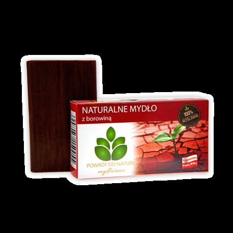 Naturalne mydło z borowiną, 100 g, Powrót do natury (1)