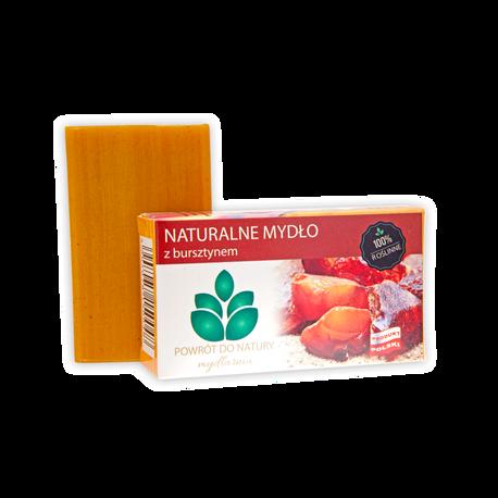 Naturalne mydło z bursztynem, 100 g, Powrót do natury (1)