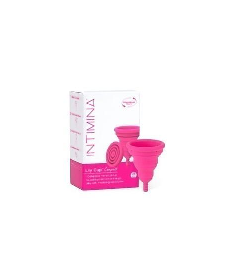Składany kubeczek menstruacyjny, Lily Cup Compact, Rozmiar B, INTIMINA (3)