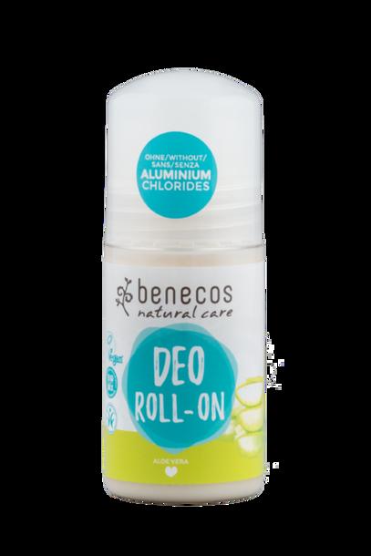 Naturalny dezodorant roll-on, bez aluminium, Aloe Vera, 50 ml, Benecos (1)