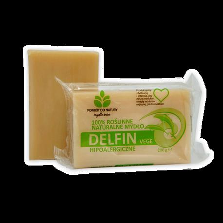 "Naturalne mydło ""DELFIN VEGE"" 200 g, Powrót do natury (1)"