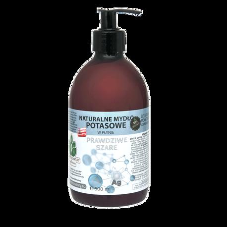 Naturalne mydło potasowe ze srebrem monojonowym w płynie, 500 ml, Powrót do natury (1)