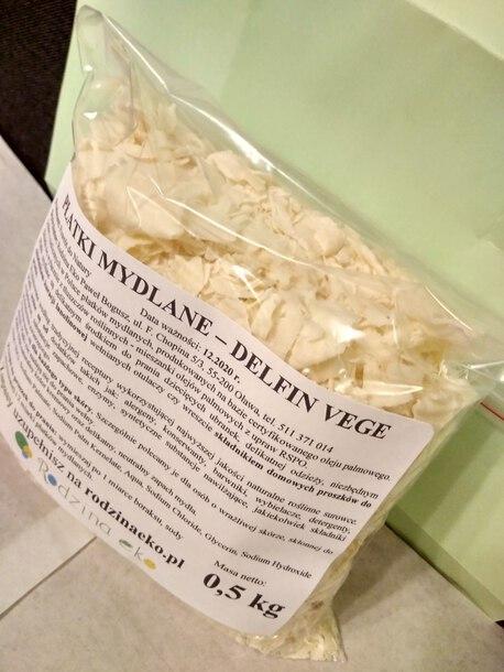 Płatki mydlane roślinne, 0,5 kg (1)