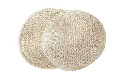 Wkładki laktacyjne, jedwabne, wielorazowe, 11 cm, Disana (1)