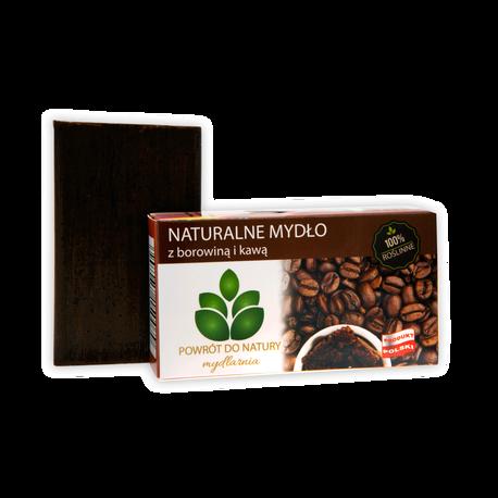 Naturalne mydło z borowiną i kawą, 100 g, Powrót do natury (1)