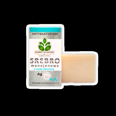 Naturalne mydło ze srebrem monojonowym i wodą utlenioną, 100 g, Powrót do natury (1)