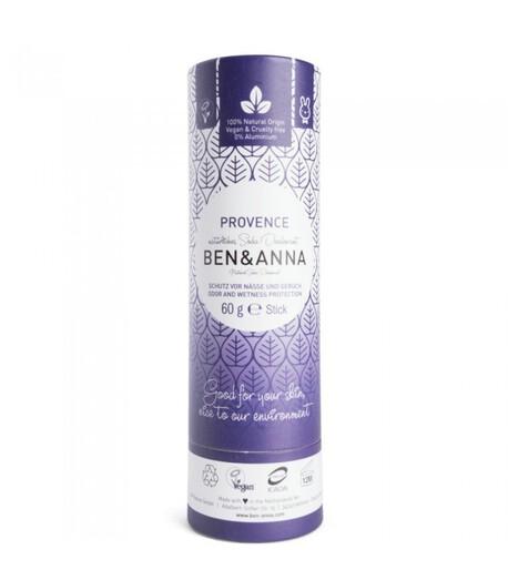 Naturalny dezodorant na bazie sody, PROVENCE, 0% aluminium, 60 g, BEN&ANNA (1)