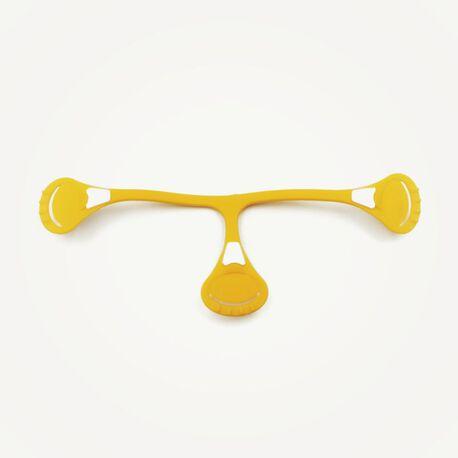 Klamerka do pieluch wielorazowych Snappi, kolor kanarkowy (rich yellow), roz. 1 (1)