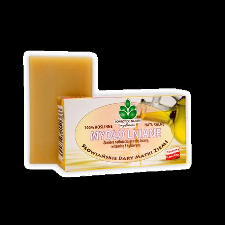 Naturalne mydło lniane, 100 g, Powrót do natury (1)